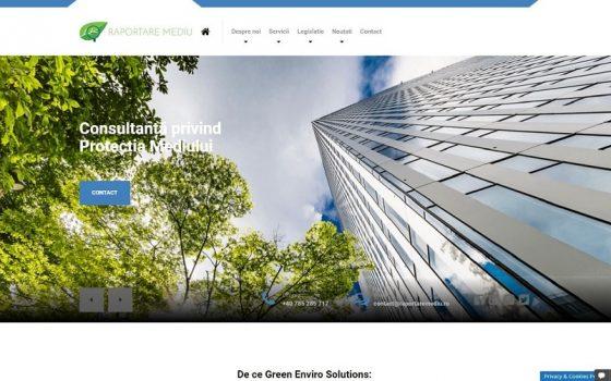 Green Enviro Solutions printscreen