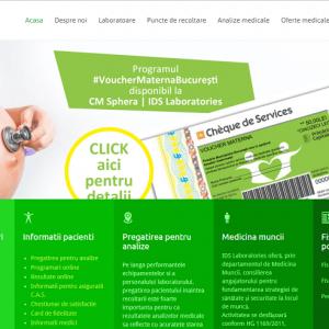 IDS Laboratories printscreen