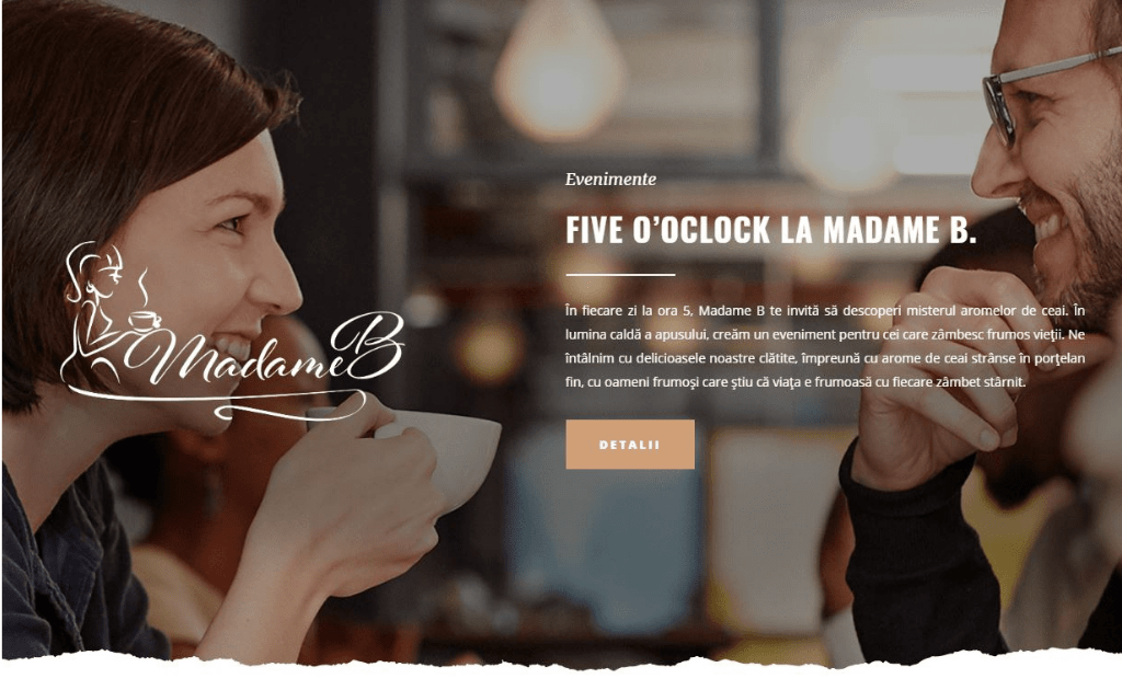 Madame B website
