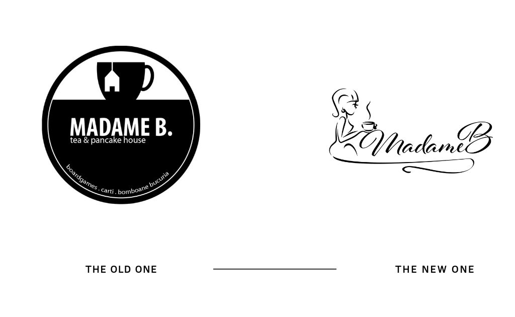 LOGO Madame B - TEA & Pancake House