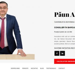 Lawyer Alexandru Paun