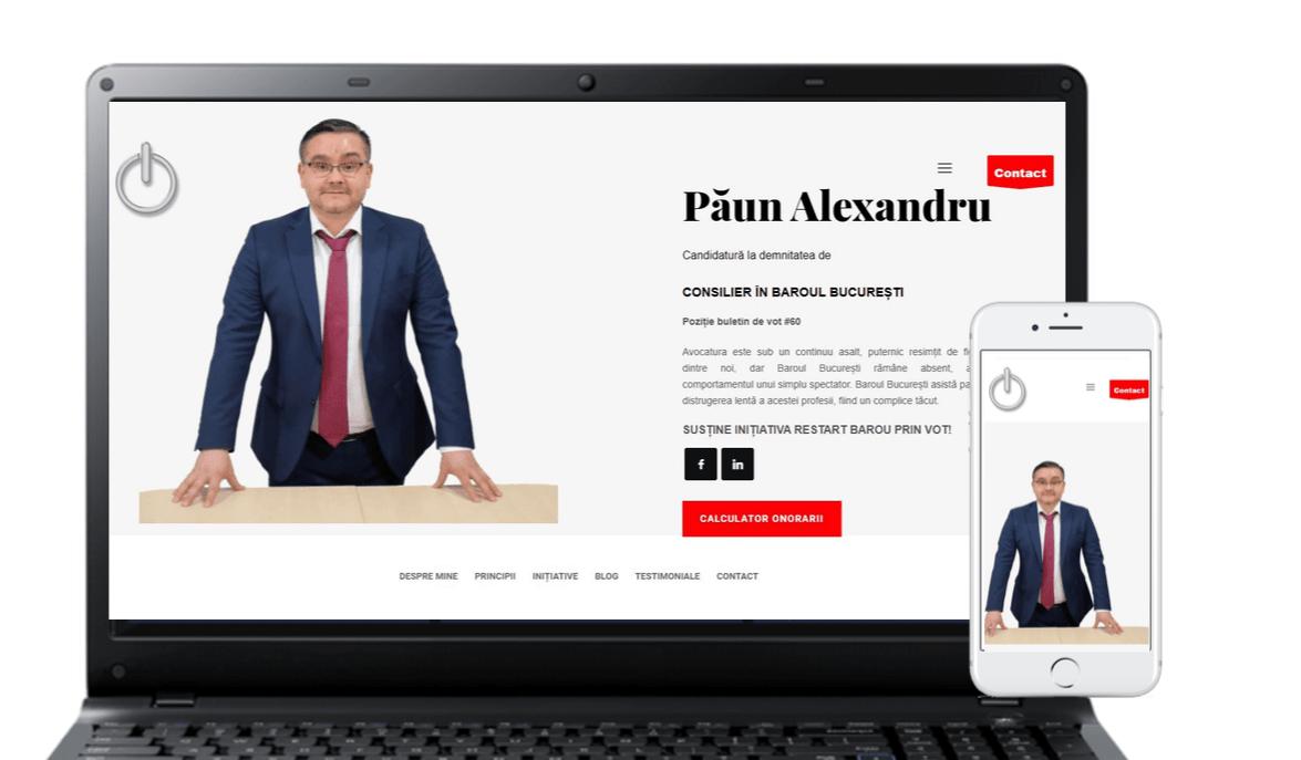 Web Site Paun Alexandru