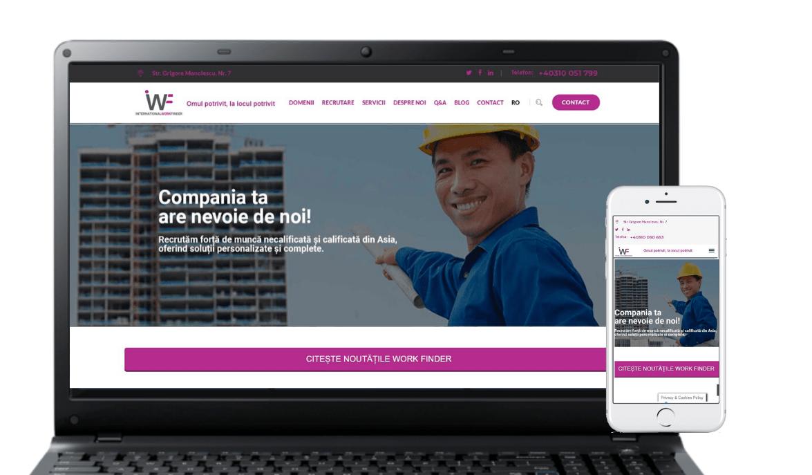 International Work Finder hr project created by Tuya Digital