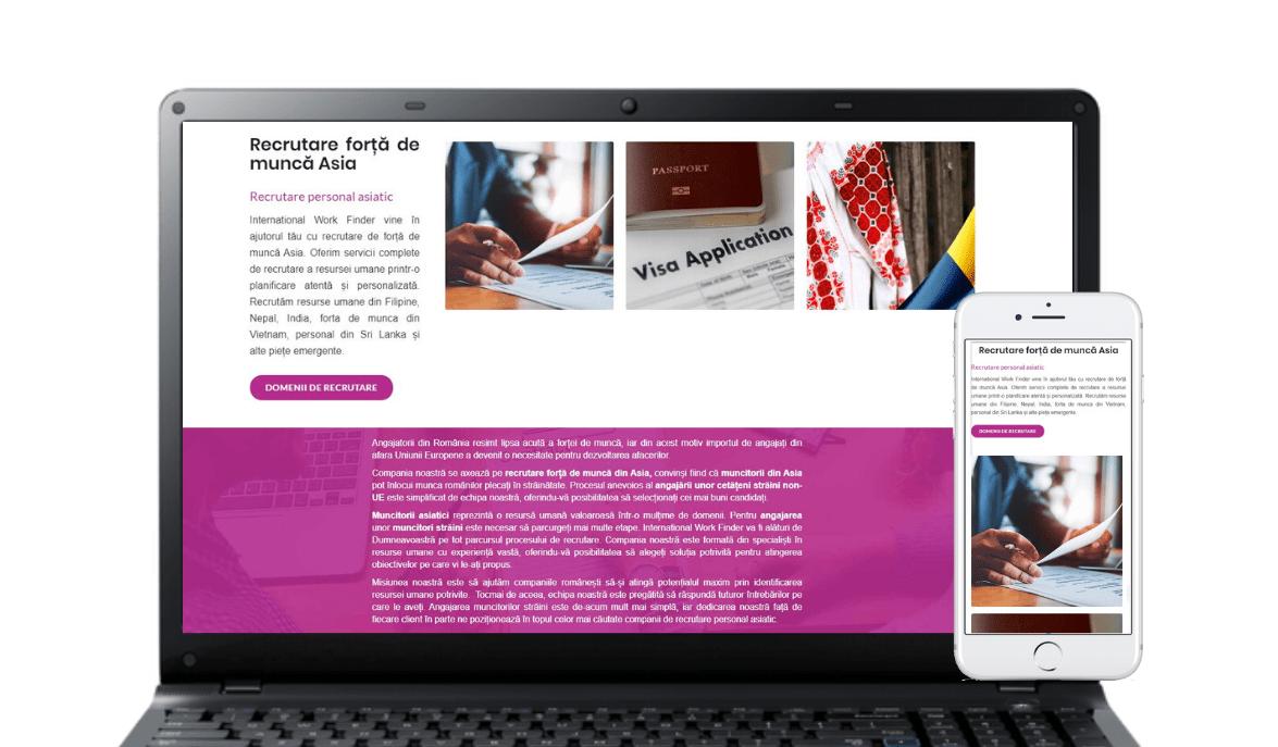 International Work Finder hr project marca Tuya Digital