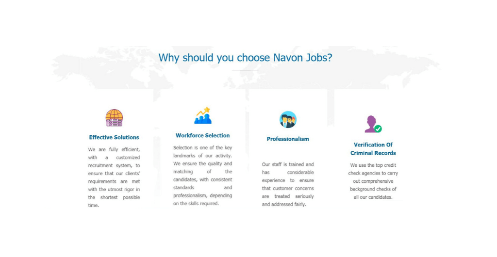 Navon Jobs website - TUYA digital website