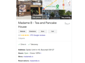 Google Rich Results - Map Snippets