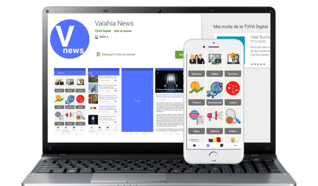 Valahia News application