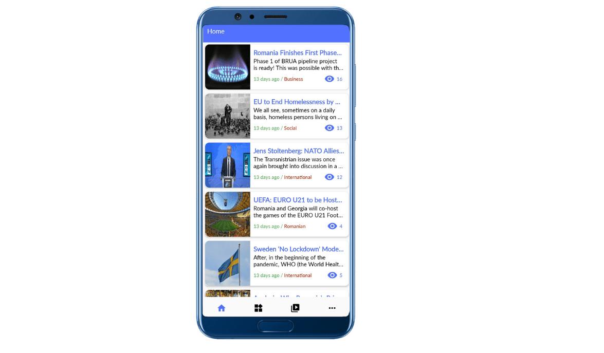 Valahia News articles