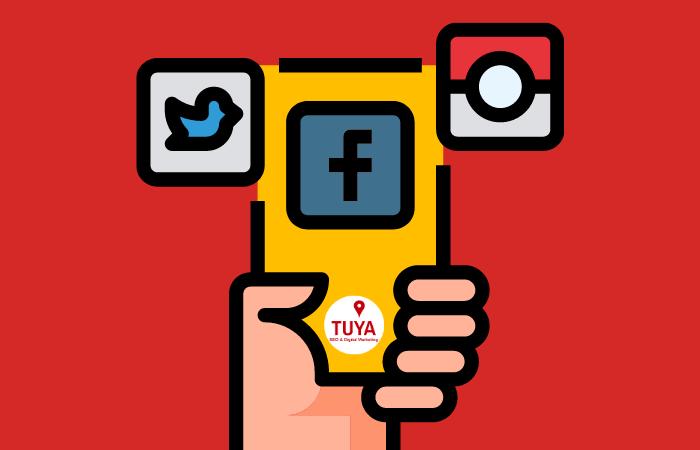 Infographic social media platforms